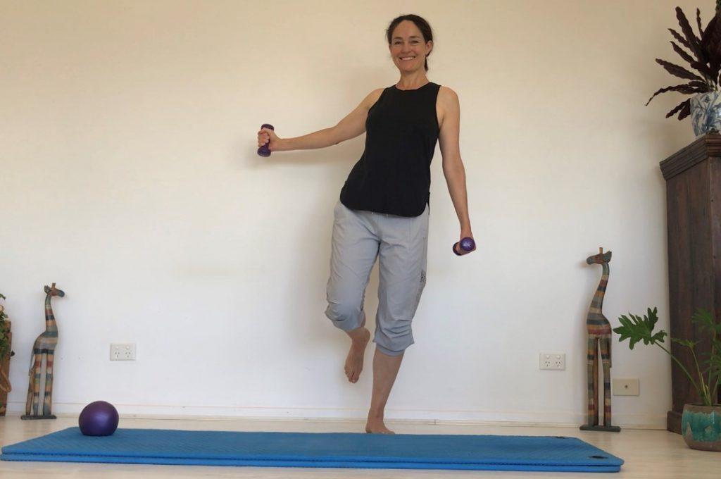 Hand Weights & Balance