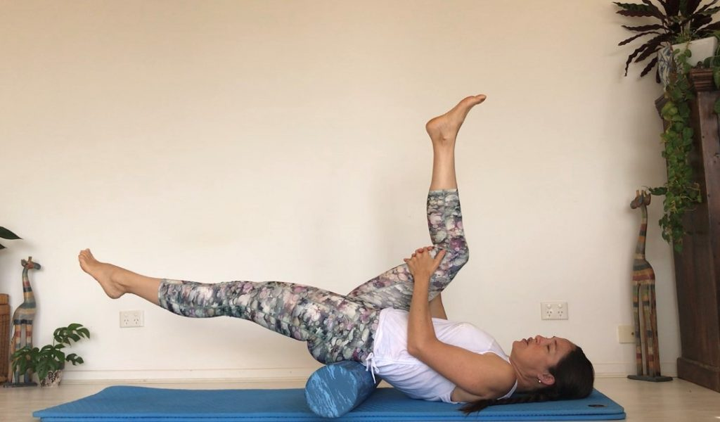 Roller Hip Stretches